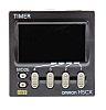 Omron デジタルタイマ H5CX マルチ動作 12 → 24 V ac/dc パネル取り付け