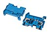 Phoenix Contact Blue PT 2.5 BU Feed Through Terminal Block, 26 → 12 AWG, 0.14 → 4mm², 800 V