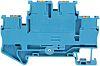 Phoenix Contact Blue PTTB 2.5 BU Double Level Terminal Block, 26 → 12 AWG, 0.14 → 4mm², ATEX, 500 V