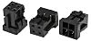 Hirose, DF11 Female Connector Housing, 2mm Pitch, 4 Way, 2 Row