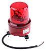 Jeladó Vörös, Forgó, LED, Csavaros rögzítés rögzítésű, 230 V AC
