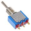 APEM Single Pole Single Throw (SPST) Toggle Switch,