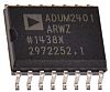 ADUM2401ARWZ Analog Devices, 4-Channel Digital Isolator 1Mbps, 5