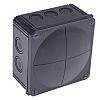 WISKA Combi Junction Box, IP66, IP67, 140mm x 140mm x 82mm