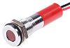 RS PRO Red Indicator, 220 V ac, 8mm