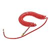 RS PRO 6m Red Coil Tubing with Connector,