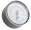 SMC K8-10-50 Analogue Positive Pressure Gauge Back Entry