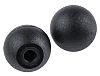 RS PRO Black Ball Clamping Knob, M6