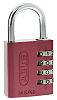 ABUS 145/40 Red All Weather Aluminium, Steel Safety