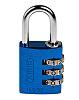 ABUS 145/30 Blue All Weather Aluminium, Steel Safety