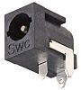 Switchcraft Right Angle DC Socket Rated At 5.0A,