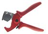 Knipex Pipe Cutter 25 mm, Cuts Plastic