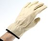 Delta Plus, Beige Work Gloves, Size 9