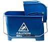 20L Plastic Blue Mop Bucket With Handle