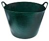 40L Plastic Green Trug With Handle