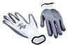 BM Polyco Matrix, White Nitrile Coated Work Gloves,