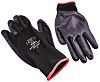 BM Polyco Matrix, Black Polyurethane Coated Work Gloves,