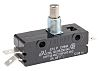 SPDT-NO/NC Button Microswitch, 25 A @ 250 V