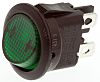 ZF Illuminated Double Pole Single Throw (DPST), On-None-Off