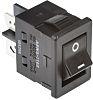 Omron A8WS-1162 Wippschalter Einpoliger Ein/Aus-Schalter (SPST), Ein-Neutral-Aus, 16 A, Schwarz
