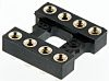 Aries Electronics 2.54mm Pitch Vertical 8 Way, SMT