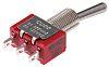 Przełącznik migowy przechylny Jednobiegunowy dwupozycyjny (SPDT)