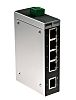 Phoenix Contact Unmanaged Ethernet Switch, 5 RJ45 port, 24V dc, 100Mbit/s Transmission Speed, DIN Rail Mount FL SWITCH