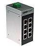 Phoenix Contact Ethernet Switch, 8 RJ45 port, 24V dc, 100Mbit/s Transmission Speed, DIN Rail Mount FL SWITCH SFNB 8TX