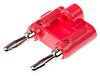Mueller Electric Red Male Banana Plug, 15A