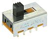 PCB Slide Switch DP3T 250 mA @ 125