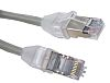 HellermannTyton Grey LSZH Cat5e Cable STP, 5m Male