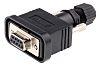 Amphenol Industrial SDB 9 Way Cable Mount D-sub Connector Socket