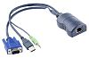 Adder Female RJ-45 to Audio (Out), USB, VGA