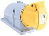 ABB, Easy & Safe IP44 Yellow Wall Mount