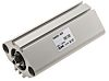 SMC Pneumatic Compact Cylinder 20mm Bore, 50mm Stroke,