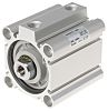SMC Pneumatic Compact Cylinder 50mm Bore, 30mm Stroke,