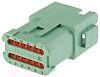 Deutsch, DT Automotive Connector Socket 12 Way, Crimp