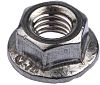 11.8mm Plain Stainless Steel Hex Flanged Nut, M5,