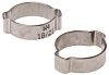 RS PRO Stainless Steel O Clip, 8mm Band
