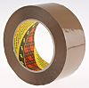 3M SCOTCH 313 Brown Packing Tape, 100m x