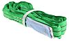 RS PRO 1m Green Lifting Sling Round, 2t