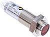 Fotoelektrický snímač 1→ 140 mm LED válcový 4kolíkový konektor M12, výstup: NPN Potlačení pozadí IP67