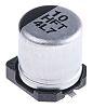 Panasonic 10μF 50V dc Aluminium Electrolytic Capacitor, Surface