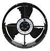 Axiální ventilátor, řada: Caravel AC, 254 x 88.9mm, průtok vzduchu: 935m³/h 61W 115 V AC Kruhový