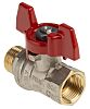 RS PRO Brass High Pressure Ball Valve 3/8