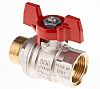 RS PRO Brass High Pressure Ball Valve 3/4