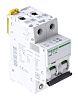 Schneider Electric Acti 9 10A MCB Mini Circuit Breaker2P Curve C, Breaking Capacity 10 kA