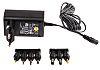 Ansmann 3 V dc, 4.5 V dc, 5 V dc, 6 V dc, 7.5 V dc, 9 V dc, 12 V dc Plugtop strømforsyning, Switch-mode strømforsyning,