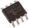 Transceiver CAN, MCP2551-I/SN, 1Mbps ISO 11898, Veille, Attente, SOIC, 8 broches