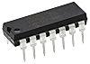 MCP6004-E/P Microchip, Op Amp, RRIO, 1MHz, 1.8 → 6 V, 14-Pin PDIP